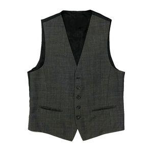 Hugo Boss Men Dress Suit Vest 38R Gray